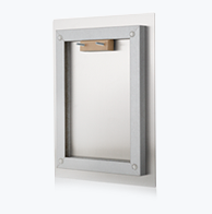 Wall float mounting fixture included on all Metal Wall Decor orders