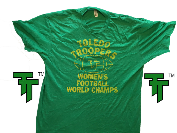 TT ™ Women's Football World Champs Green