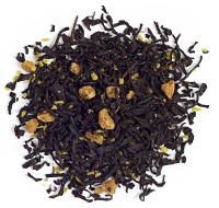 A deliciously rich black tea with caramel, dried green apples, coconut, toffee and French sea salt.