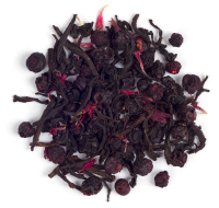 A bright and fruity combination of Ceylon black tea, blueberries, elderberries and a hint of honey.