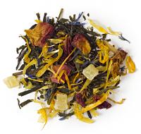 Green tea with a blend of mango, papaya, pineapple and lemongrass.
