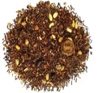 Buttery Sweet organic rooibos, toasted rice, caramel, buckwheat (does not contain wheat), toffee bits.