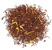 Pure vanilla rooibos packed with real vanilla beans.