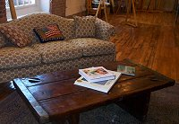 'My' writing sofa