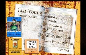 Screen shot of website: Magnolia Street Artist Books