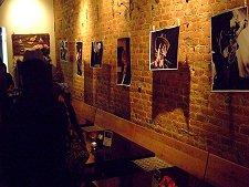dotmatrix project photo exhibit opening at Thai Pan, Greensboro, NC