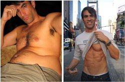 Jorge Cruise's before & after photos