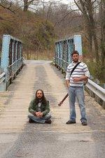 MMG & Jason on a bridge