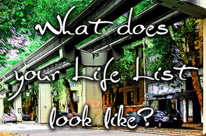 What does your Life List look like?