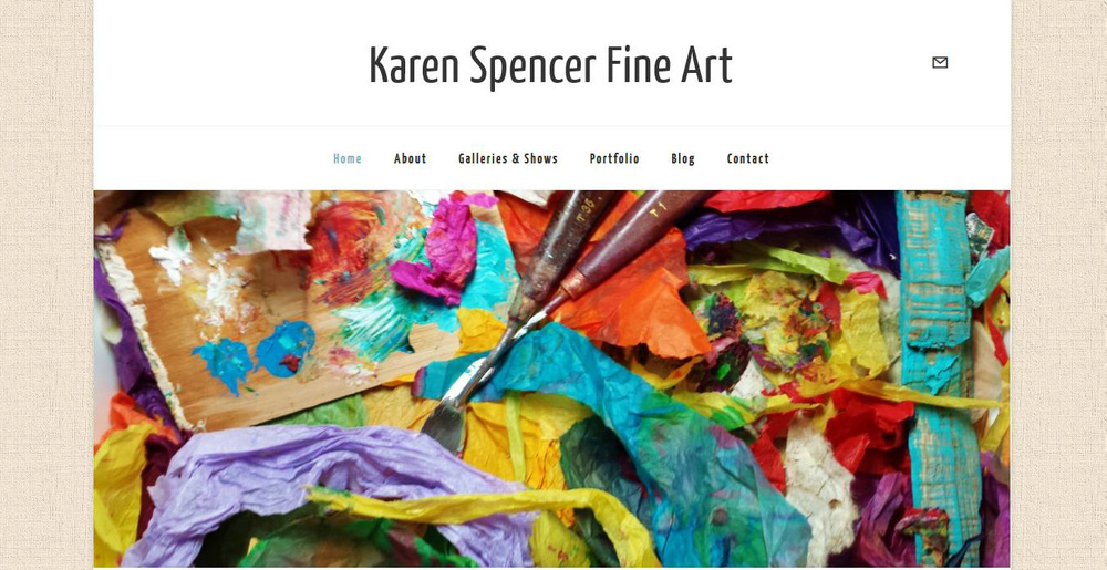 Fine Artist Art Therapist Karen Spencer Select Squarespace