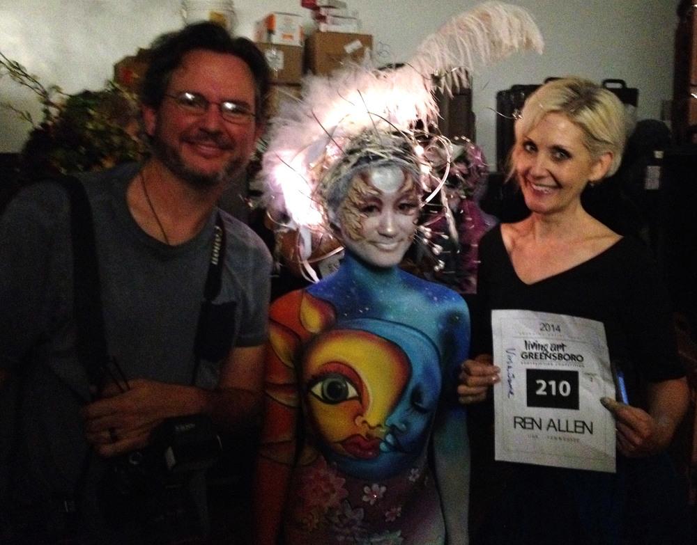Keith Dixon, Vina Jane & Ren Allen