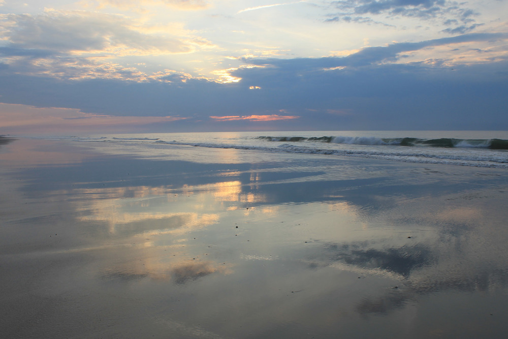 topsail-beach-sunrise-reflection-in-water-on-sand-waves-clouds-sky-2429.jpg