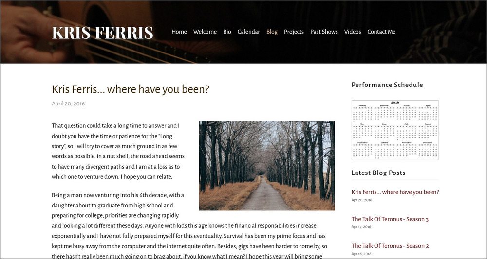 kris-ferris-squarespace-website-melody-watson-portfolio-sample_0005_FireShot Screen Capture #428 - 'Blog — Kris Ferris' .jpg