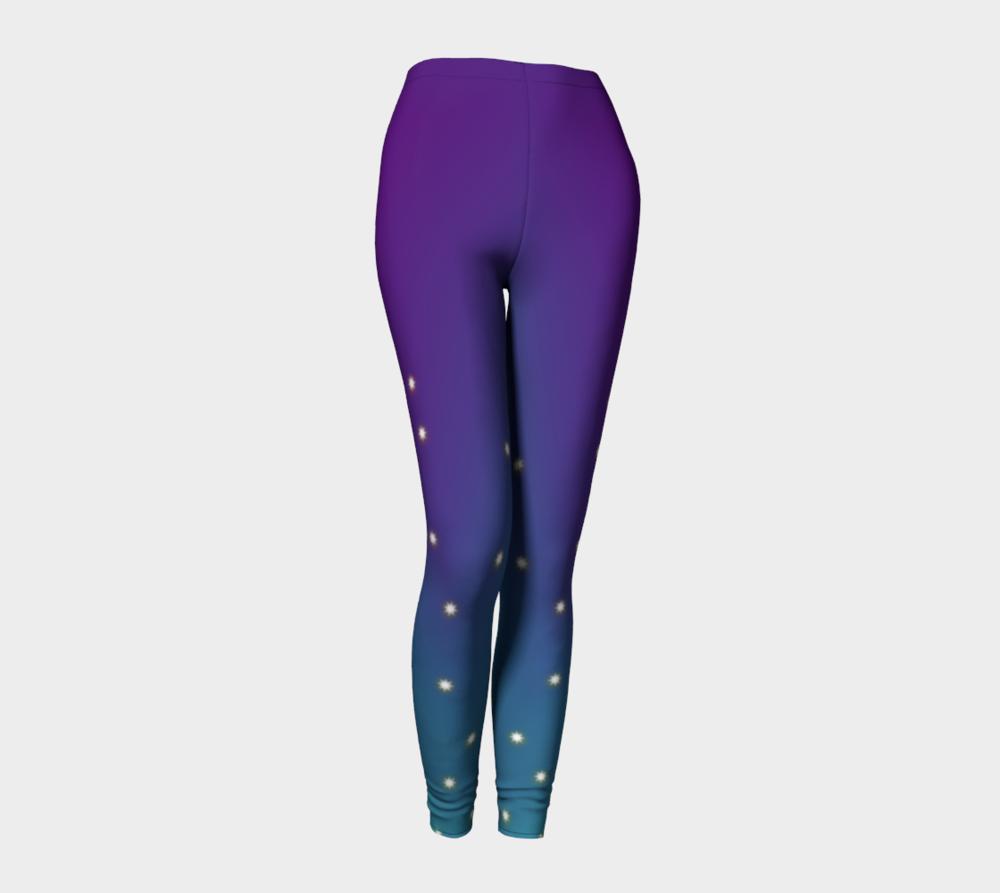"""Sparkle Plus"" Leggings designed by Melody Watson"