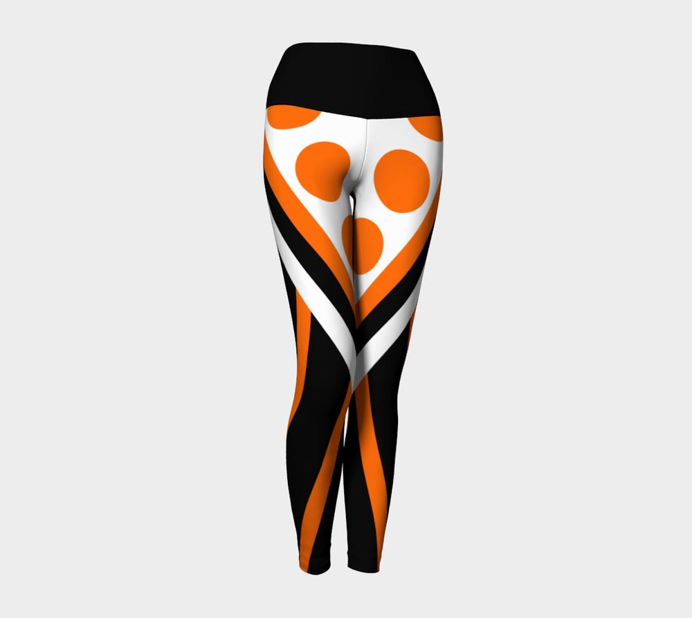 wntot-orange-black-white-stripes-polka-dot-halloween-artist-design-yoga-leggings-344434-front-pose2.png