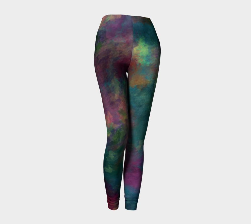 "Standard Leggings in ""The Way She Looks at You"" Digital Artwork Design"