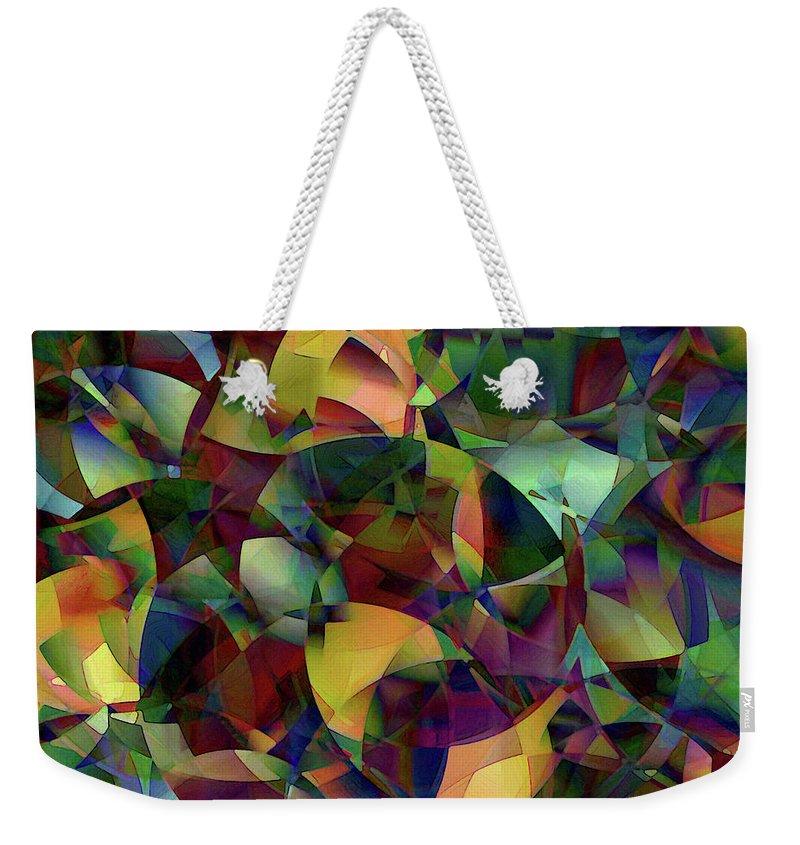 Weekender Tote Bag from Pixels
