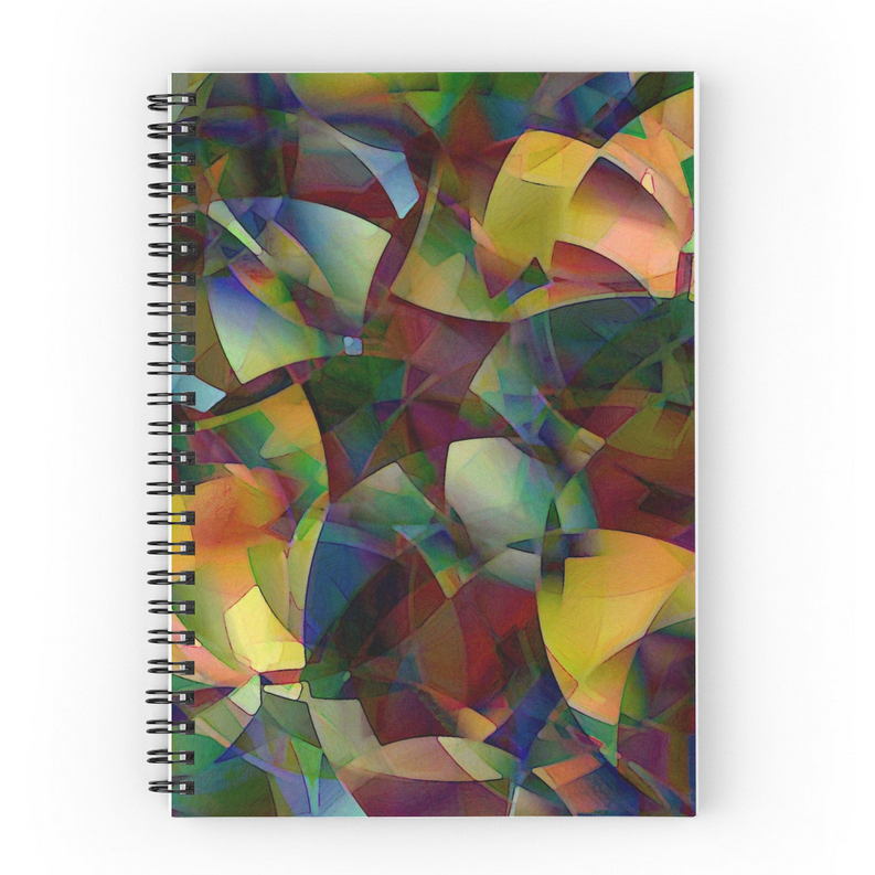 Spiral Notebooks from Redbubble