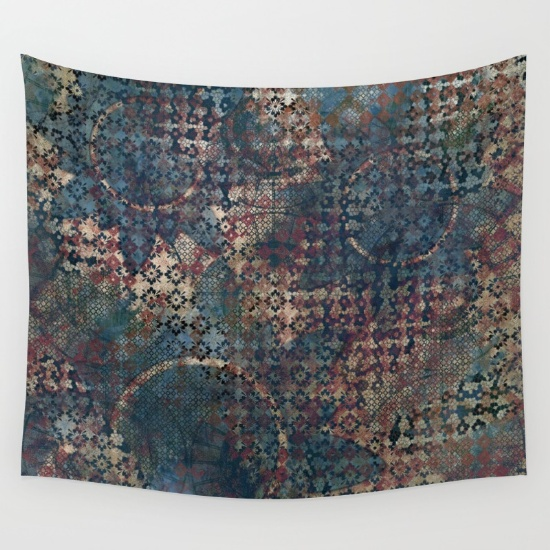 delivery-to-another-world-tapestries-blue-cream-red-black-grungy-abstract-art-design.jpg