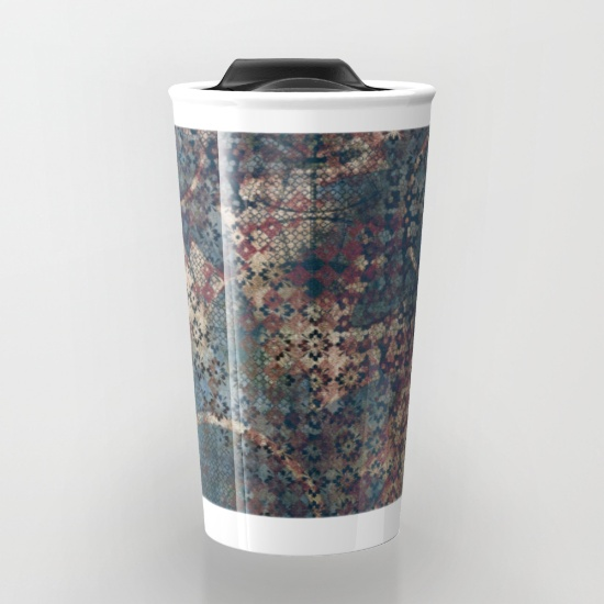 Travel mugs can be printed with artwork