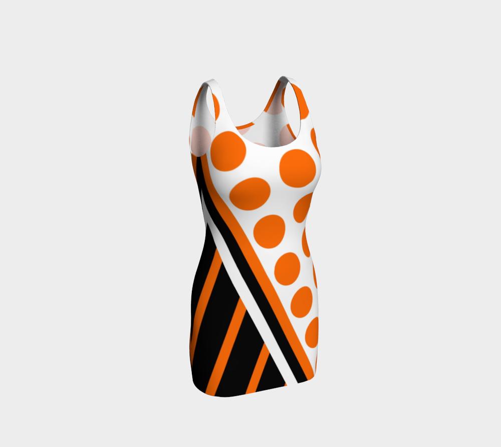 wntot-orange-black-white-stripes-polka-dot-halloween-design-preview-bodycon-dress-344559-front.png