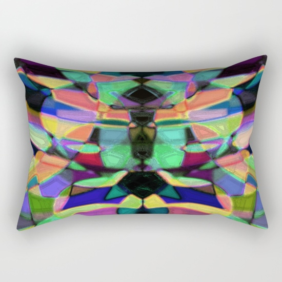 Throw pillow with my artwork!