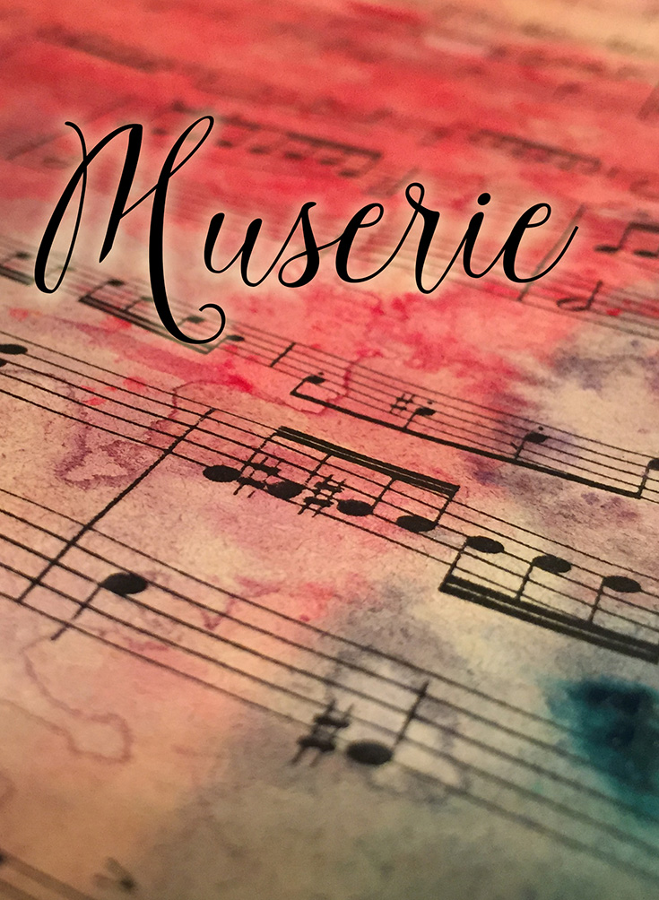 Muserie.com - actively seeking out creative inspiration on a daily basis. Handcrafted artisan jewelry by Melody Watson.