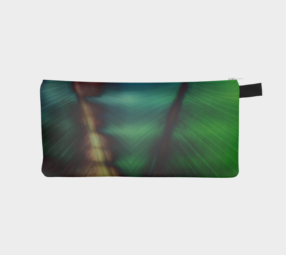 Zippered pencil case pouches with artwork designed by Melody Watson
