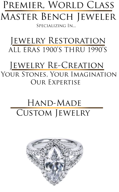 Silver, Gold, Diamond, Gemstone, Ring, Earring, Pendant, Old Town La Quinta, Palm Desert, El Paseo, Rancho Mirage, Jewelry Repair
