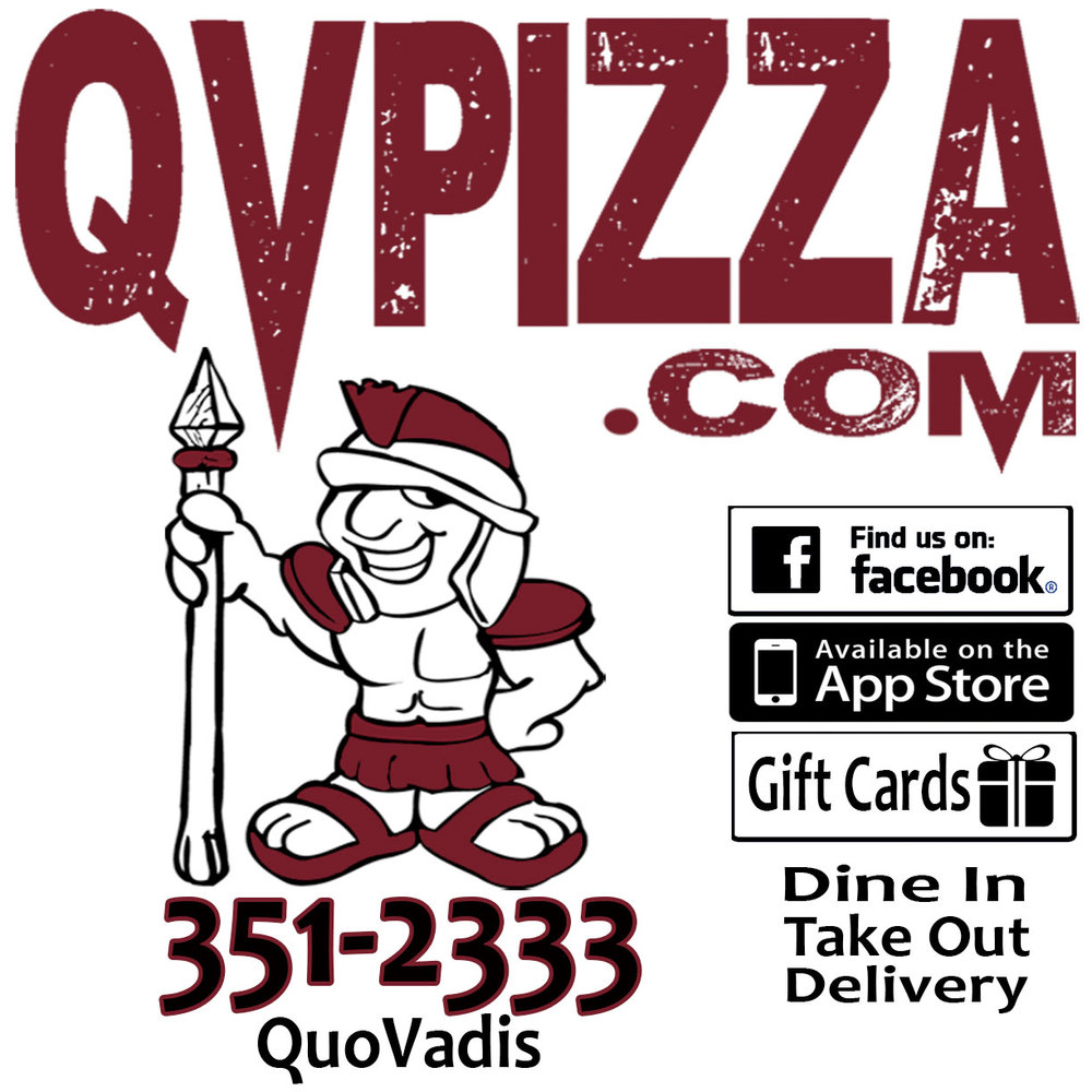Special Thanks to our Sponsor!   www.qvpizza.com