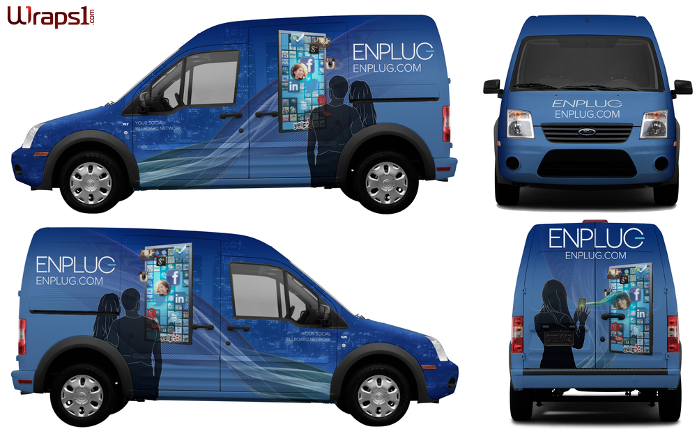 Design for Enplug service van