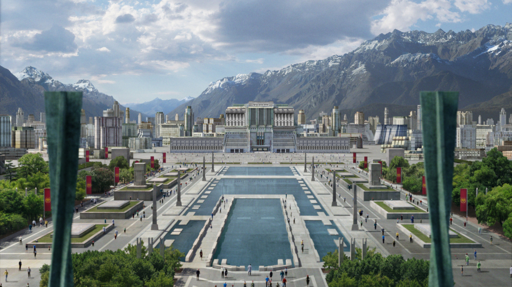 The Hunger Games matte painting