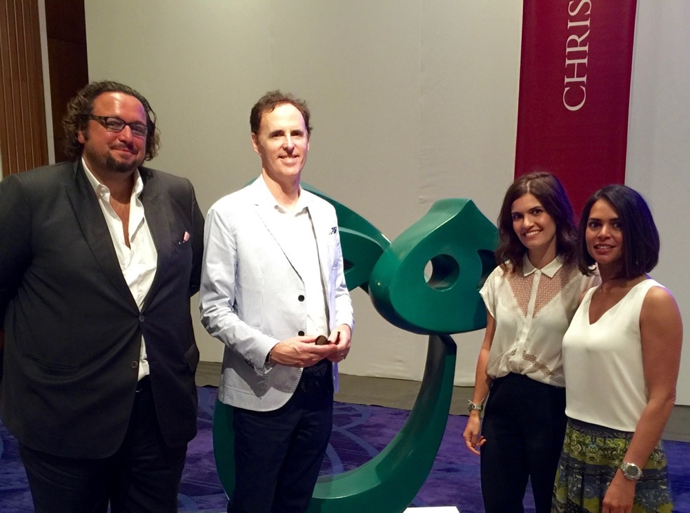 Charlie Pocock, Meem Gallery; Terrence Turner; Bibi Naz Zavieh, Christie's Dubai; Mana Jalalian Mobargha