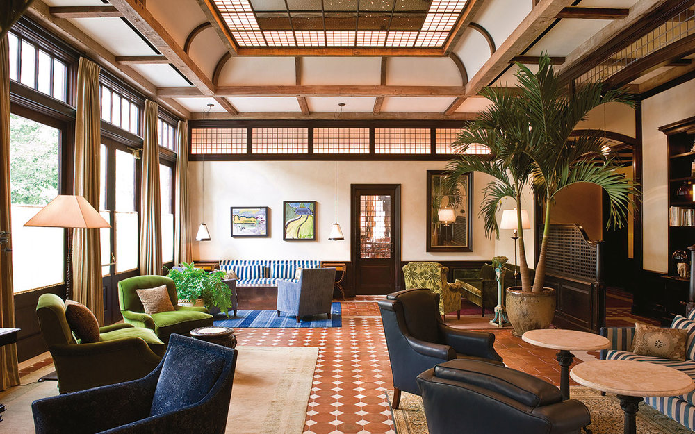 Greenwich Hotel Lobby, New York City