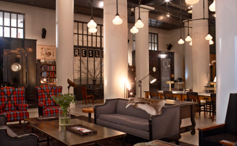Ace Hotel Lobby, New York City
