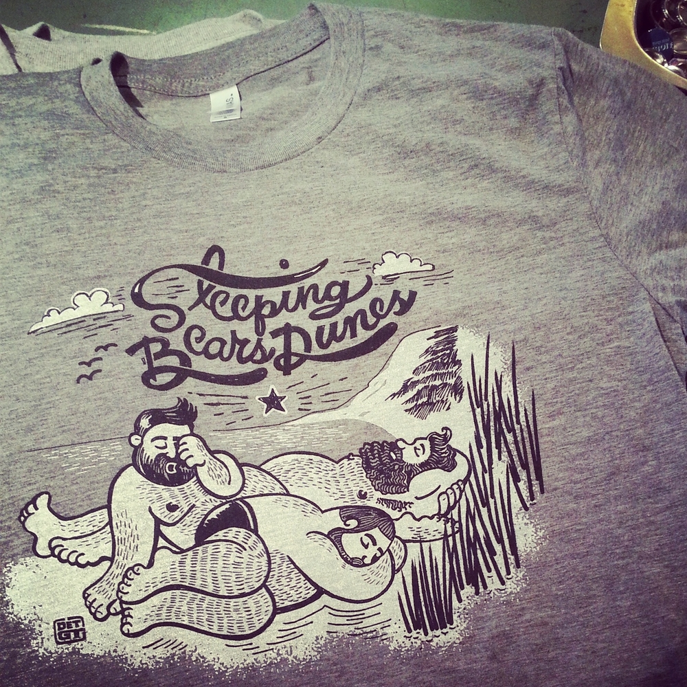 The Sleeping Bears Dunes tee
