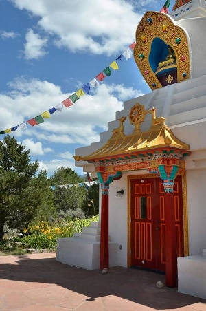 Kagyu Mila Guru Stupa