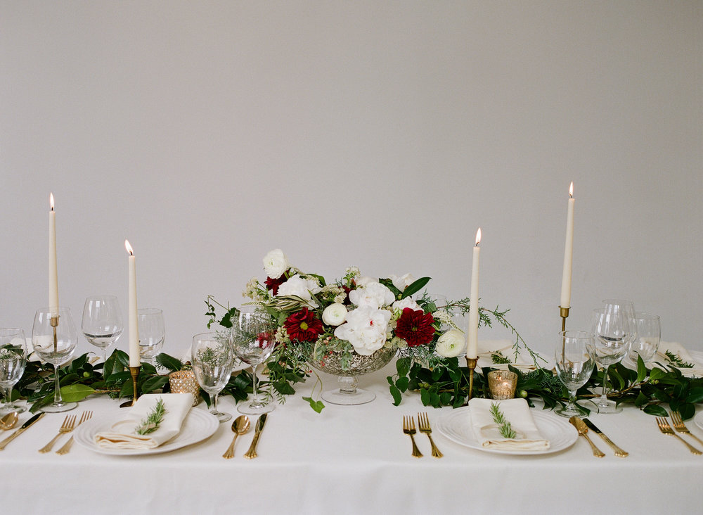 Winter Wedding Table Inspiration
