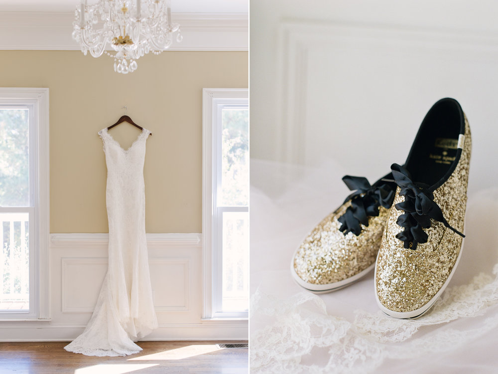Allure Bridals Gown & Kade Spade Shoes.jpg