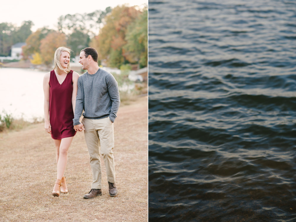Lake Carroll Engagement walking photo.jpg