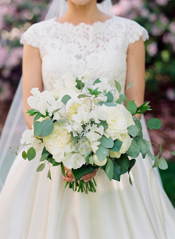Classic Bride with Bouquet, Atlanta Fine Art Photographer