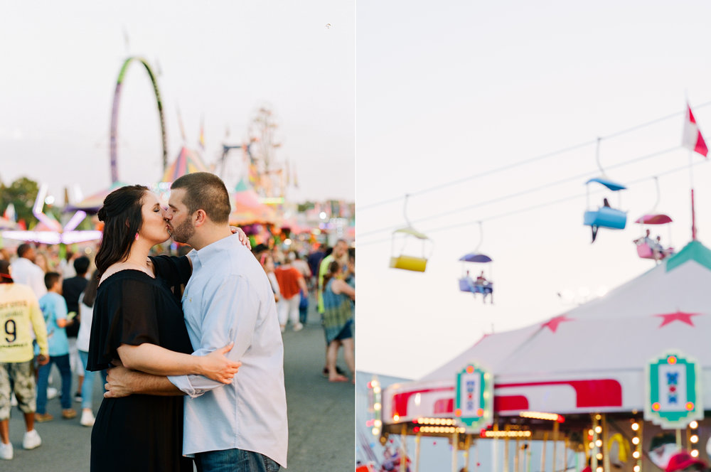 Kiss at the North Georgia State Fair Engagement Session.jpg