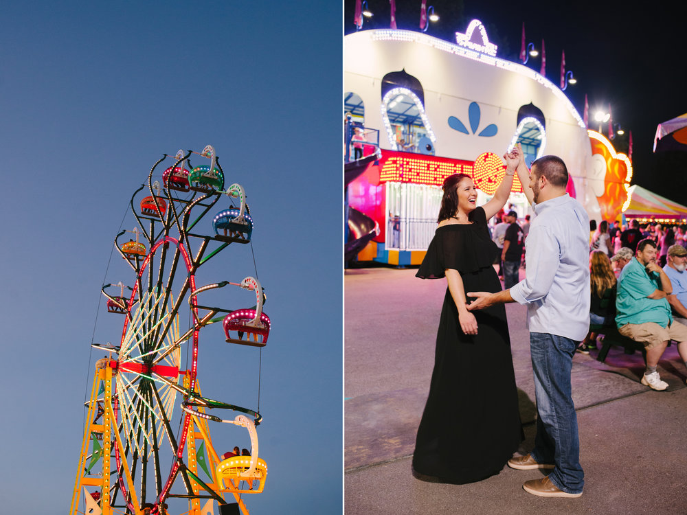Engagement Photos in front of the Fun House at the Georgia State Fair.jpg