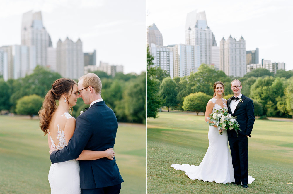 Sunset Wedding Photos at Piedmont Park.jpg