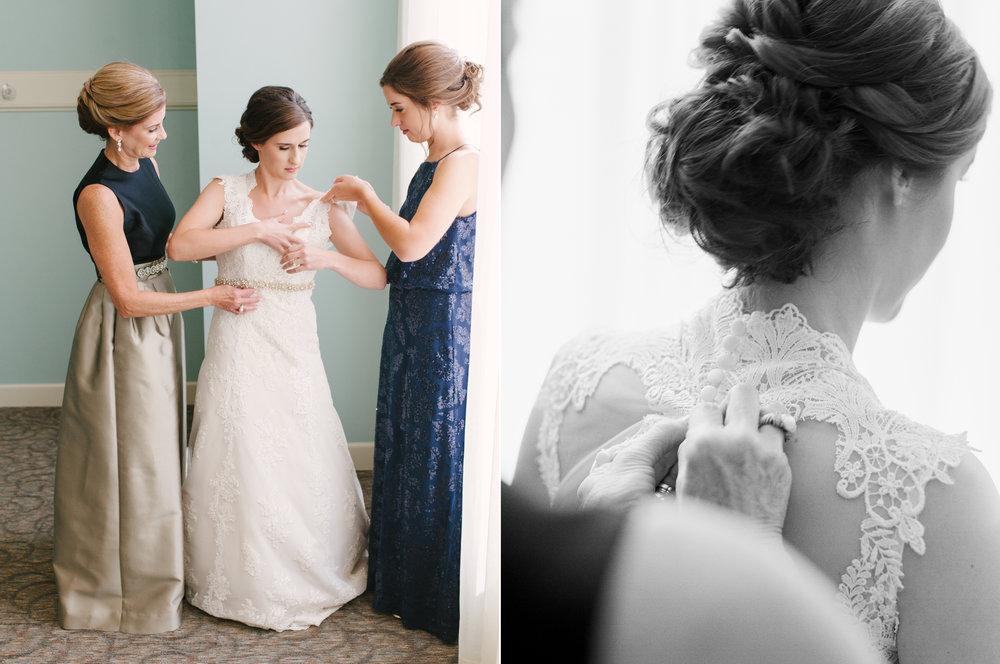 Bride Getting in Gown at Perimeter Church.jpg