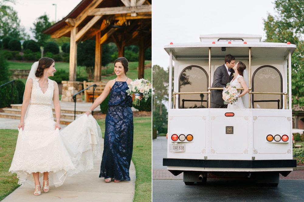 Bride and Groom in Trolley.jpg