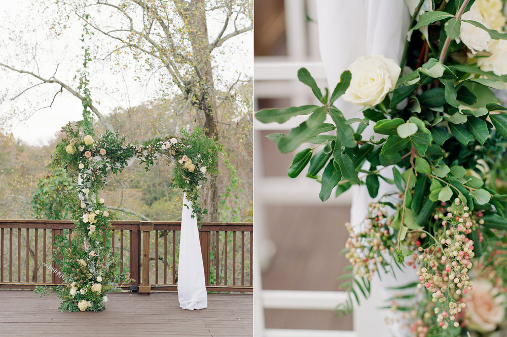Romantic Fall Ceremony Arch Ivy Hall Roswell.jpg