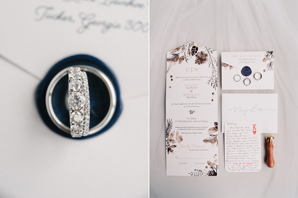 Fall Wedding Invitation with Navy Blue Wax Seal.jpg