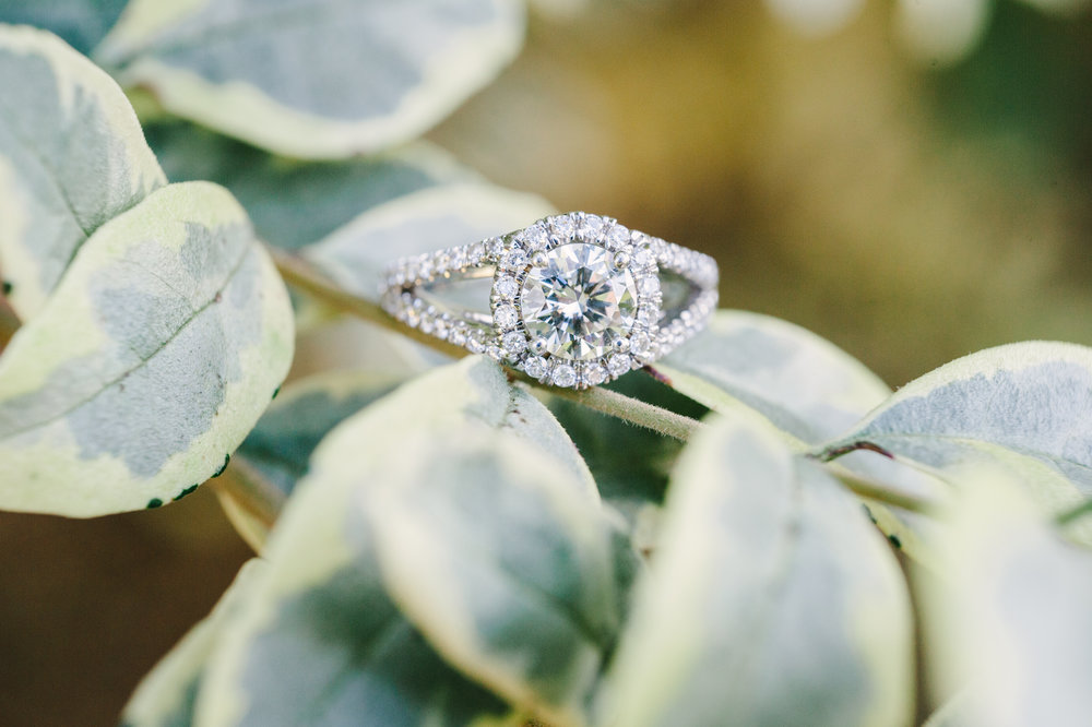 Bright Engagement Ring Roswell Mill