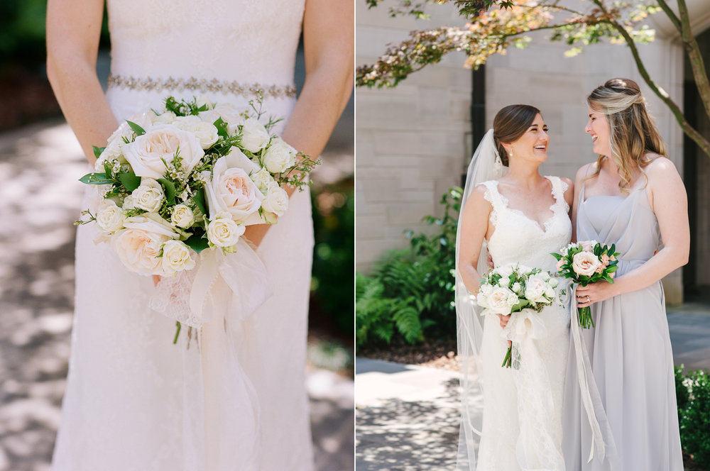 Bride and Bridesmaid at Cathedral of Christ the King.jpg
